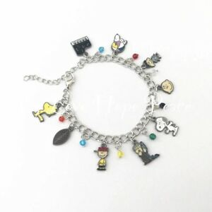 Image Is Loading Charlie Brown Snoopy Charm Bracelet