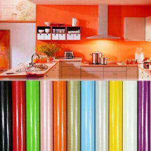 Kitchen Cabinet Bathroom Wallpaper Vinyl Stickers Home Decor Wall Decal Ebay