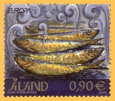 Aland 2005 Europa Gastronomy Commemorative Stamp Mnh Exquisite (In) Workmanship