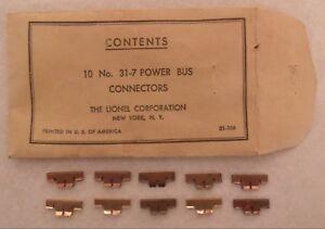 Lionel Super O Copper Power Bus Bar Connectors Train Super o Super 0