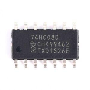 10 PCS 74HC02D SOP-14 74HC02 HC02 SMD Quad 2-input NOR gate,New IC
