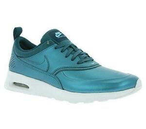 Details about Womens NIKE AIR MAX THEA SE Dark Sea Trainers 861674 901
