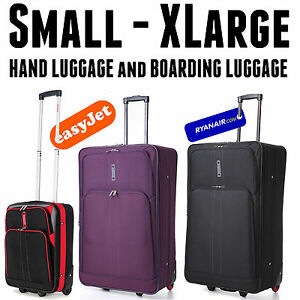 Lightweight Luggage Large Medium Small Cabin Travel Trolley ...
