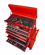 Tool Chest 7 Drawers With 250 Tools Set Garage Workshop Trolley Shed DIY 7 Trays