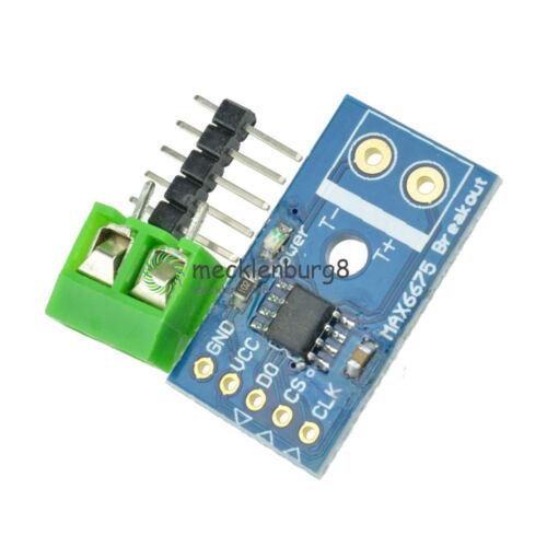 Neu MAX6675 K-Type Thermocouple Temperature Sensor Module for Arduino