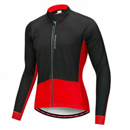 Thermische Radsport Jacke Winter Fahrrad winddichte Sport Mantel Jersey Jacket