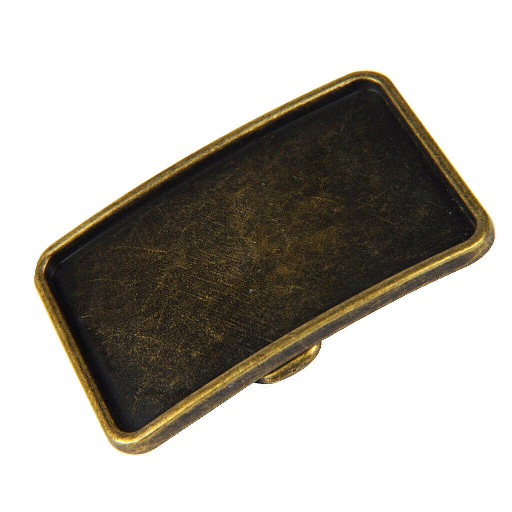 1 piece belt buckle Bohemian style gift for men - antique bronze