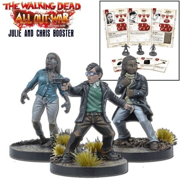 The Walking Dead Julie and Chris Booster (English) All Out War Mantic Games