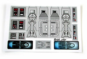 CUSTOM STICKERS for LEGO 6211 Imperial star destroyer , Models, Toys,Etc