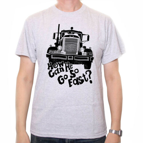 Truck Spielberg Cult Movie Inspired by Duel T Shirt How Can He Go So Fast