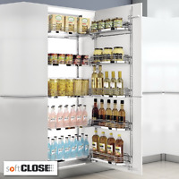 Chefs Kitchen Larder Pantry Unit To Suit 600mm Wide Cabinets High Quality Design
