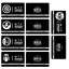 miniature 3 -  SCP Foundation Keycards sticker pass 10pcs PLASTIC CARD cosplay games gift