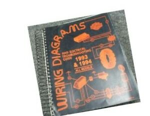 1994 Harley Davidson Wide Glide Motorcycle Electrical Wiring Diagrams Manual  | eBayeBay