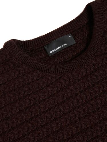 Remus Clearence Cable Xl 99 Jumper Red Srp Uomo dark £59 Front HHArwCZxWq