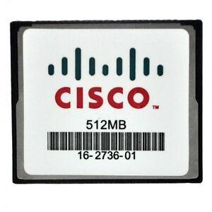 CISCO 64MB CF COMPACT Flash Card for Cisco 2900 2801 2811 2821 2851 3825 3845