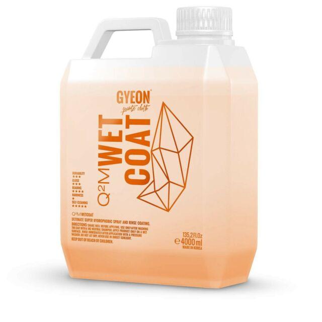 Gyeon Q2M Wet Coat WetCoat Sprüh Nassversiegelung 4 Liter Kanister (16,75€/1L)