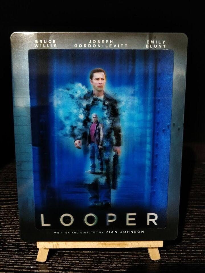 Looper (Lenticular Steelbook) - Future Shop Canada,