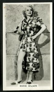 Tobacco-Card-Ardath-PHOTOCARDS-FILM-ETC-GROUP-M-Standard-1939-Marie-Wilson