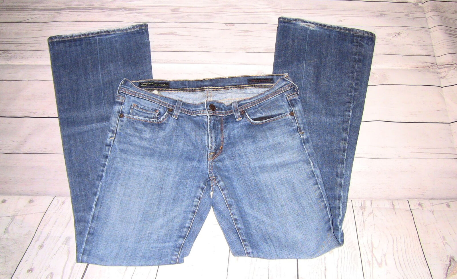 Citizens of Humanity Women's Jeans Low Waist Flare Stretch Ingrid 002 Size 30