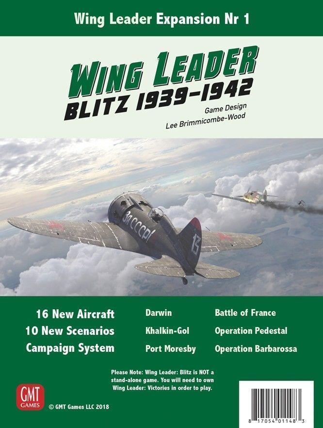 Wing Leader Exp Blitz 1939-1942, NEW