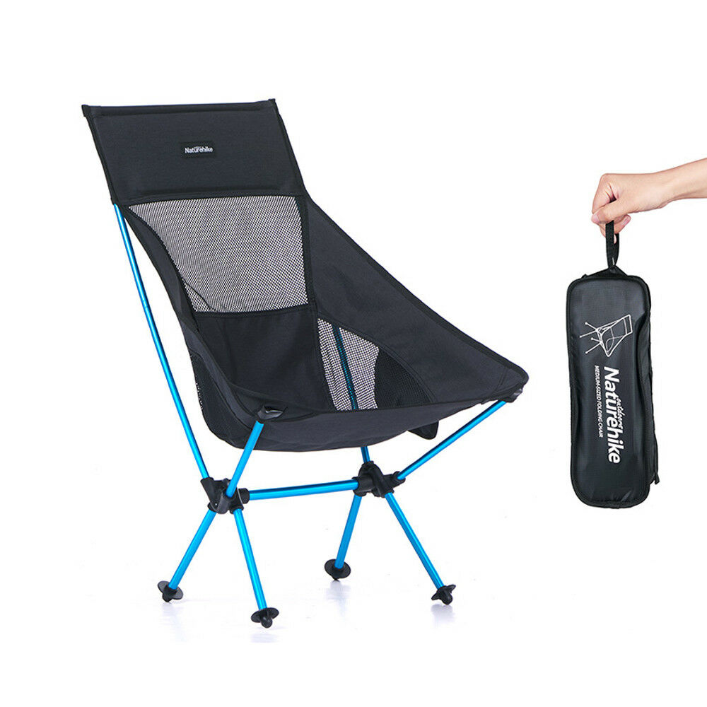 Compact Folding Fishing Chair Camping Hiking  Portable Chair with Carrying Bag  save 35% - 70% off