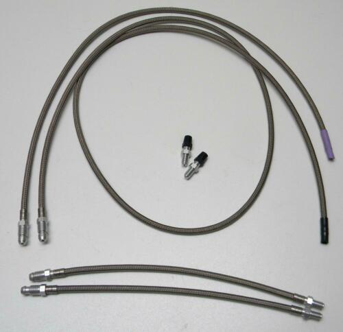 Spiegler Steelflex Hydraulic Hose Cable Set for Magura HS F85