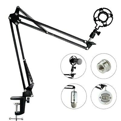 Microphone Arm Stand For Blue Yeti Snowball Microphone Mic