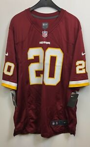 NFL-Redskins-Nike-Collins-Tee-Shirt-Homme-Jersey-Red-taille-L-neuf-avec-etiquettes
