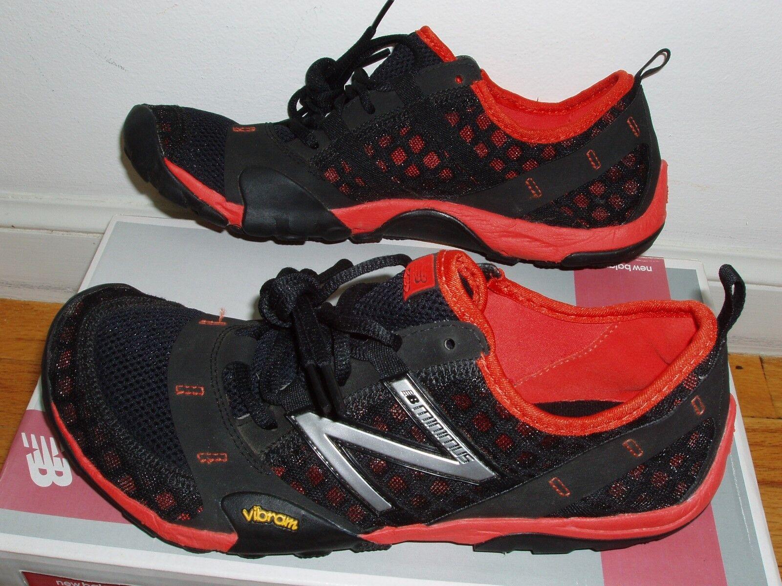 New Balance minimus trail running shoes MT10BR mens 7 D = womens 8.5 minimalist