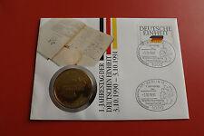 *Medaille Numisbrief 1991  * Deutsche Einheit (ALB14)