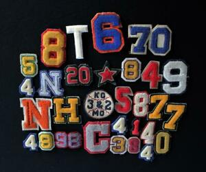 30-SMALL-VINTAGE-1950-039-S-1970-039-S-NUMBERS-AND-LETTERS-PATCHES