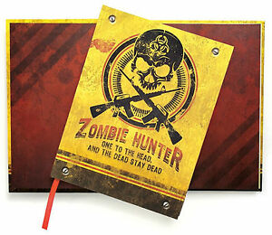 Paper House ZOMBIE HUNTER 6x8 JOURNAL scrapbooking (180) Lined Pages