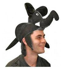 Elephant Hat Grey Animal Fancy Dress Costume Accessory P2375