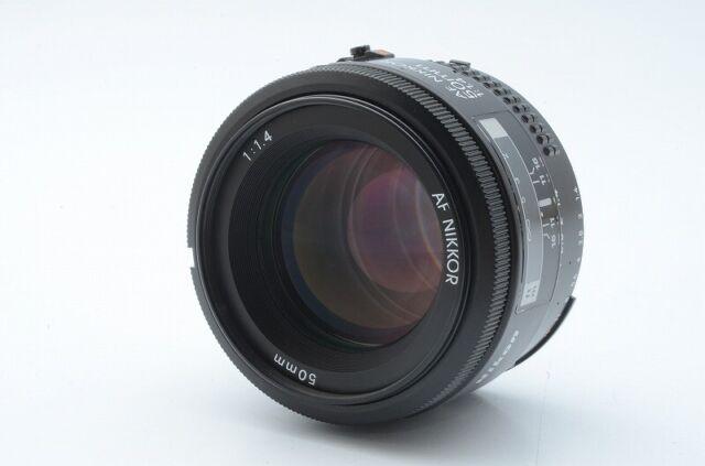 Excellent +++ Condition  Nikon AF NIKKOR 50mm F1.4 Lens SN 2043717 from Japan