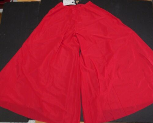 NWT PRAISE LITURGICAL DANCE Palazzo Pants Red Child//Ladies PLUS Sizs Praisewear