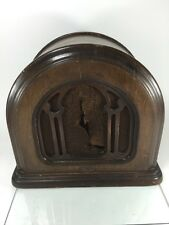 Vintage Rare Model Rola D-110 Dynamic Powered Speaker Wood Cabinet Original!