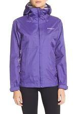 NWT  Womens Purple PATAGONIA Torrentshell Waterproof Rain Jacket hood Size Large