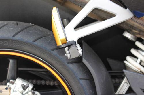 13- MFW verstellbare Vario Fußrasten KTM 1290 Super Duke R Fahrer oder Sozius