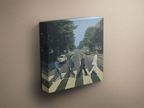 "The Beatles /""Abbey Road/"" Cover Art Canvas Art Print #002291"