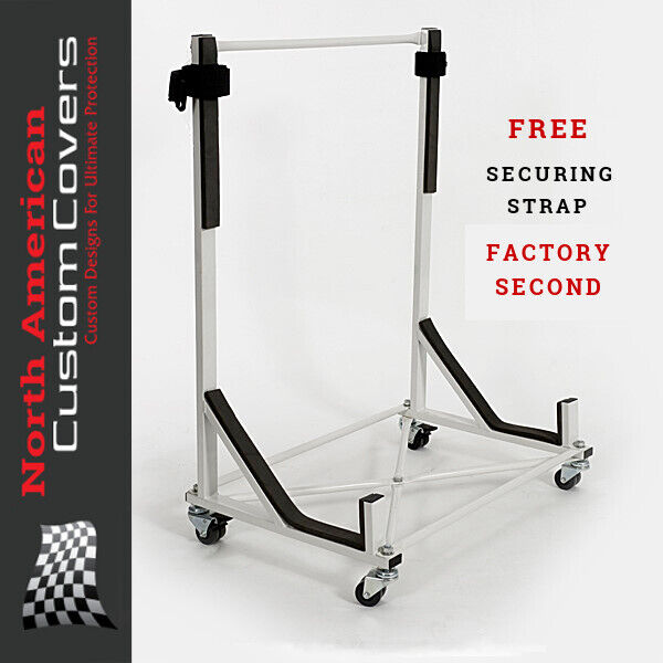 TRIUMPH STAG CONVERTIBLE HARDTOP STAND STORAGE TROLLEY 050