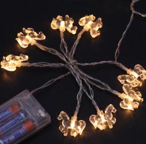 Crystal-Little-Foal-Horse-String-Light-Christmas-Wedding-Party-LED-Decor-Battery