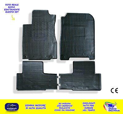 Tappetini gomma Honda CRV CR-V CR V 3 2006-2012 4pezzi