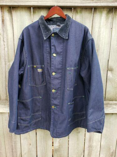 Vintage Oshkosh B'Gosh Denim Chore Coat Men's Size