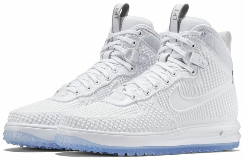 Nike Lunar Force Clear 1 Duck Boot PMR Clear Force Blanco Sole 806402 hombres 8 ~ 13 1f91bb