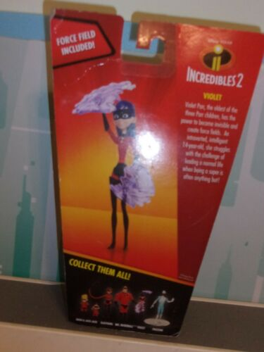 """The Incredibles 2 Violet with Force Fields 4/"""" Figure New  FREE SHIP"""