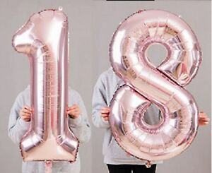 Image Is Loading 18th Birthday Party 40 034 Foil Balloon HeliumAir
