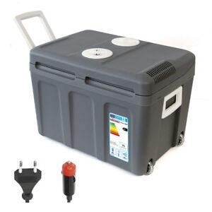 45L Kühlbox Mini-Kühlschrank Thermoelektrische Warmhaltebox für Camping 12V 230V