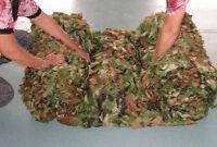 Camouflage Camo Net Netting Cover Blinds Jungle Military Tarp Fu 2m2m