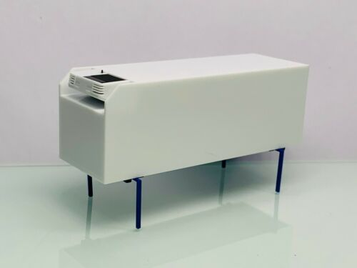Herpa Kühlkoffer Wechselbrücke Weiß-blau ohne OVP