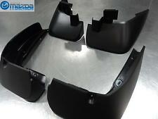 MAZDA 5 2012-2013 NEW OEM SPLASH GUARD SET FRONT AND REAR
